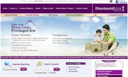 Dhanlaxmi Bank Net Banking, Dhan bank Net Banking Login, Register, Unblock or Activate