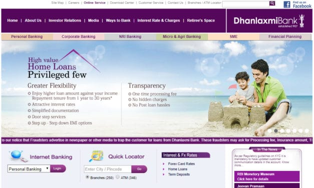 Dhanalakshmi Bank Net Banking, Dhan bank Net Banking Login, Register, Unblock or Activate