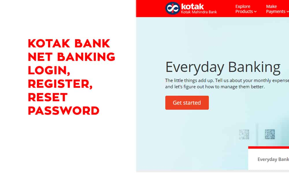 Kotak Net Banking Login, Register, Reset Password, Unblock