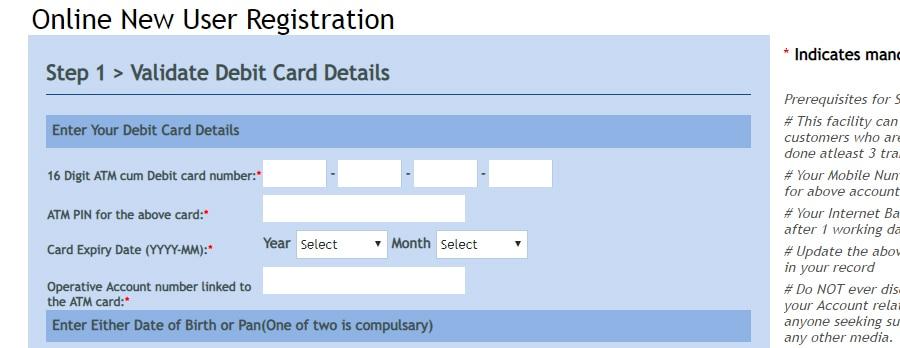 Vijaya Bank Net Banking Online Register