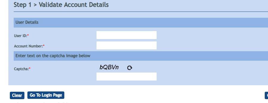 Vijaya Bank Net Banking Reset Password Online