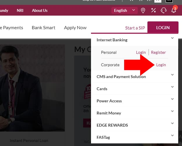 Axis Bank Corporate Net Banking Login