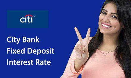 City Bank Fixed Deposit Interest Rate