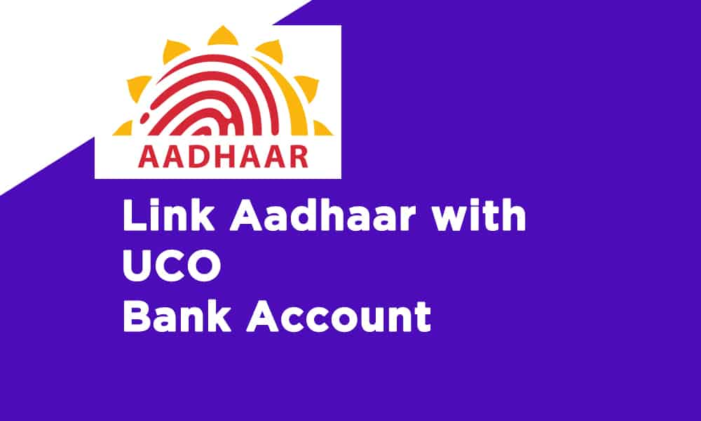 Link Aadhaar With UCO Bank Account