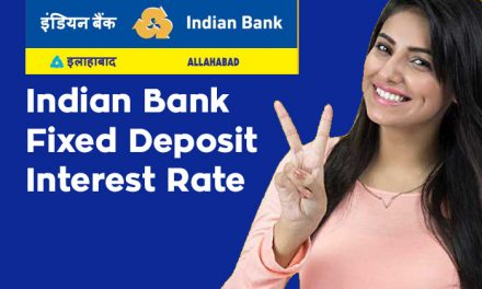 Indian Bank Fixed Deposit Interest Rate