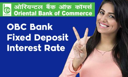 OBC Bank Fixed Deposit Interest Rate